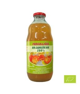Eko jabolčni sok 1 l (Eko kmetija Podgrajšek)