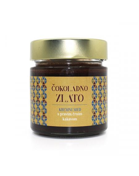 Čokoladno zlato - kremni med 250 g (Čebelarstvo Poslek)