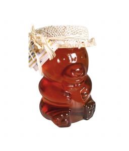 Cvetlični med - stekleni medo 300 g (Čebelarstvo Poslek)