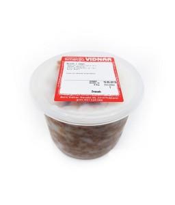Domači ocvirki v masti 500 ml (Kmetija Vidnar)